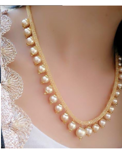 Pearl necklace set  for girls and women