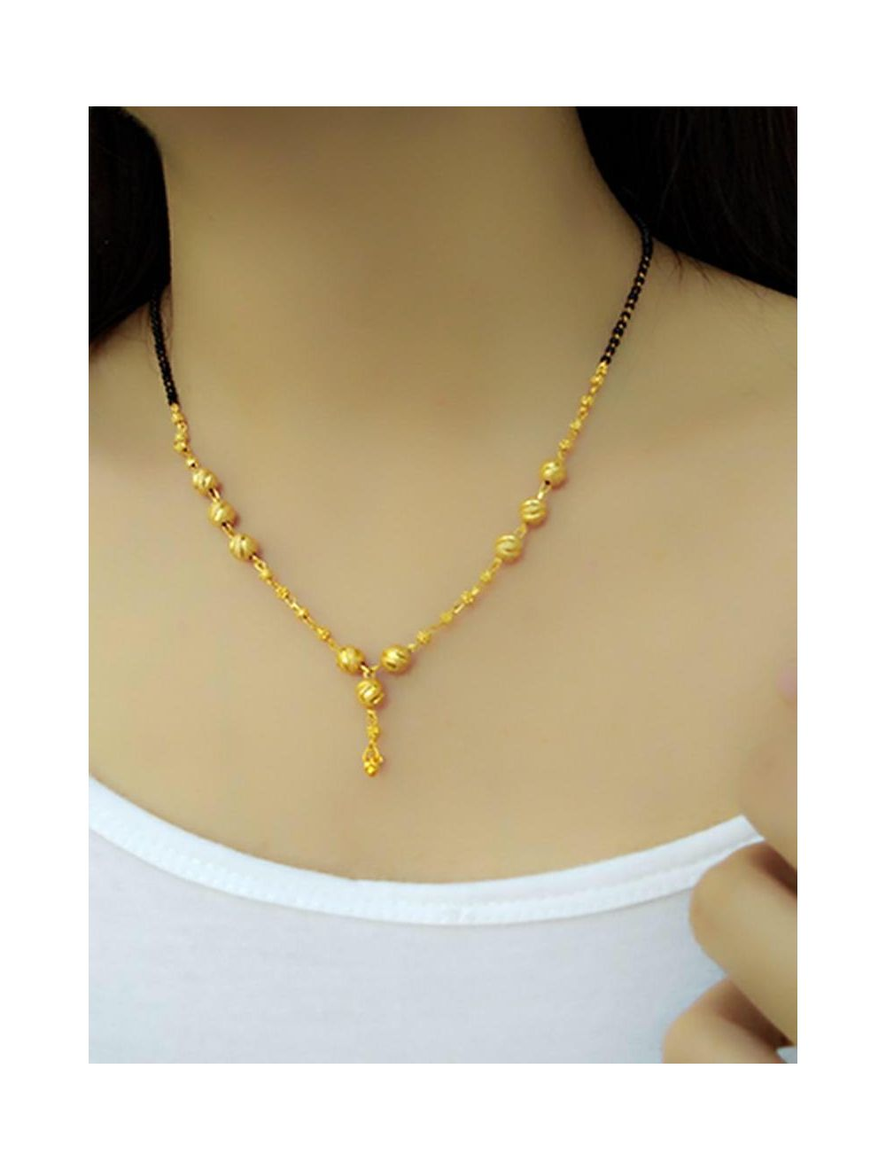 Gold Plated Daily Wear Mangalsutra