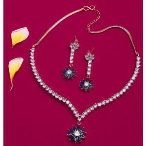 Traditional amercian necklace set for women & girls