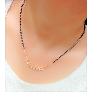 Traditional new style daily wear mangalsutra for women with 18 inches short chain
