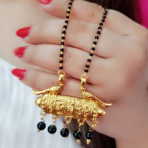 Dholna Gold Plated Mangalsutra