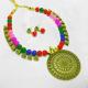 Multicolored Bohemian Necklace Set